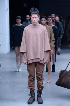 d6f6f87b83d22 Kanye West × adidas Originals. Nike ShoesAdidas OriginalsStreetwearSport  FashionMens FashionStreet FashionOriginal YeezyYeezy Season 1Nude Shirt