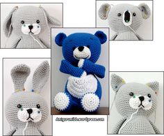 Blue Bear - Blå Bamse