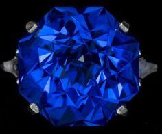 Blue Quartz Rose Petal Cut Sterling Silver Ring by janeysjewels, $225.00