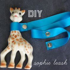 Don't lose your child's favorite toys.  Make a lease that can attach to strollers, car seats, or the highchair. Quick and easy to make.