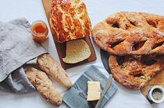 Französisch backen x 3: Brioche, Baguette und Fougasse