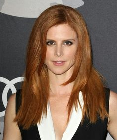 View yourself with this Sarah Rafferty Long Straight Dark Ginger Red Hairstyle Sarah Rafferty, Dark Blonde Hair Color, Red Hair Color, Casual Hairstyles, Straight Hairstyles, Blow Dry, Hair Cuts, Hair Styles, Beauty