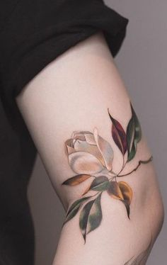 - You are in the right place about (notitle) Tattoo Design And Style Galleries On The Net – Are The - Beautiful Flower Tattoos, Pretty Tattoos, Mini Tattoos, Body Art Tattoos, Wrist Tattoos, Leaf Tattoos, Gardenia Tattoo, Tattoos For Women, Tattoos For Guys