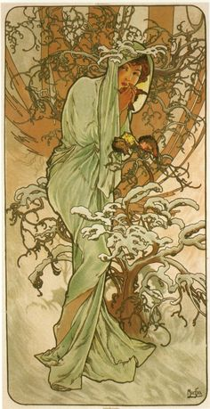 A. Mucha - Winter