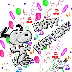 Snoopy Wishes You a Happy Birthday #happy_birthday #happy_birthday_wishes #birthday