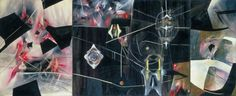'Black Virtue', Matta (Roberto Matta Echaurren), 1943 | Tate