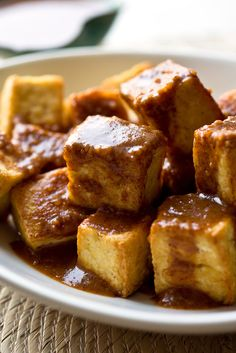 NYT Cooking: If you don't feel like cooking on a hot summer day, you can enjoy plain cold tofu with a dipping sauce. Or you can sear it quickly in a pan or grill it. This recipe and the others that follow it this week make enough sauce or marinade for a pound of tofu.<br/><br/>Spread this sweet and pungent peanut sauce on seared, grilled or uncooked tofu. It also makes a%...