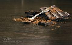 Dark Chocolate with cocoa powder by darko92acm