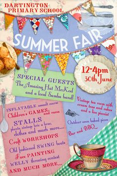 Kath Grimshaw Illustration blog: Summer Fair poster