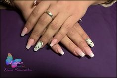 gel nails, ombre, french, babyboomer, marble