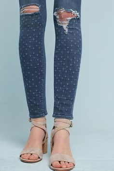 Slide View: 4: Parker Smith Ava Mid-Rise Skinny Jeans