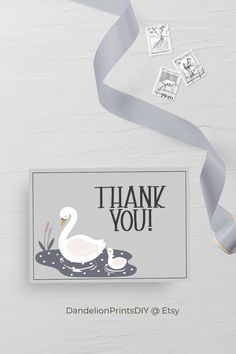 The perfect Thank you card to match the rest of the TAL Baby Shower Collection. Perfect for a modern baby shower. #babyshower #babyshowerthankyou #thankyoucard #babyshowerinvites