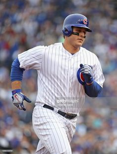 Create stunning wall decor with MLB photos provided by Getty Images. Print your favorite MLB photos on photo paper, canvas, acrylic, metal and Hot Baseball Guys, Baseball Today, Baseball Cards, Chicago Cubs History, Photo Store, Mlb, Cubbies, Champs, Sports