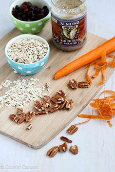No-Bake Carrot Cake Granola Bites Recipe {Low Sugar} #recipe #snack #healthy by CookinCanuck, via Flickr