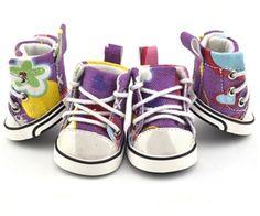Parisian Pet Graffiti Converse Shoes @ Pupaholic.com