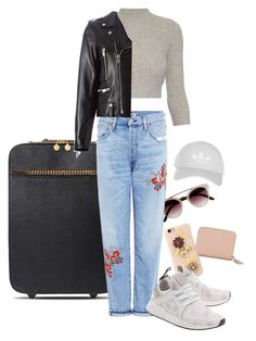 """Arriving Paris for VSFW'16"" by filipainstars ❤ liked on Polyvore featuring Yves Saint Laurent, STELLA McCARTNEY, Citizens of Humanity, Alexander McQueen, Dolce&Gabbana, Topshop and adidas Originals"