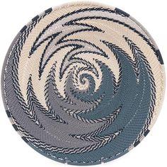 African Basket - Zulu Wire - Shallow Bowl 34763