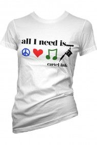 All I Need Is... Girls T-shirt