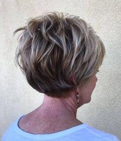 70 Overwhelming Ideas for Short Choppy Haircuts Over 60 Hairstyles, Long Pixie Hairstyles, Mom Hairstyles, Older Women Hairstyles, Pixie Haircuts, Hairstyle Ideas, Hairstyles 2018, Classy Hairstyles, Black Hairstyles