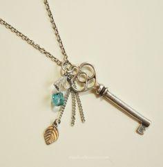 SALE Open Your Heart long Necklace
