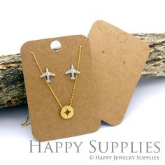 Earring Cards Baby Deer Jewelry Cards Necklace Cards Holiday Earring Cards Design Included Jewelry Display Cards