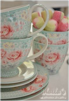 Greengate teacups!