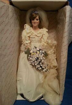 Princess Diana Wedding Doll - Unique Wedding Ideas