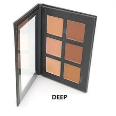 Cream Contour Palette Kit Pro 6 Colors Concealer Makeup Palette Concealer Face Primer Net All Skin Types Net Make Up Concealer, Too Faced Concealer, Concealer Palette, Cream Concealer, Contour Palette, Makeup Palette, Color Contour, Cream Contour, Contour Kit