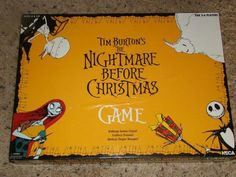 Nightmare before Christmas board game