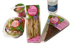 """Création de la gamme """" Snacking """" d'Auchan"""