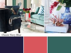 The color experts at HGTV.com share 20 navy blue spaces to inspire you to try this classic-meets-trendy color in your home.