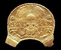golden breastplate with birthing goddess <3