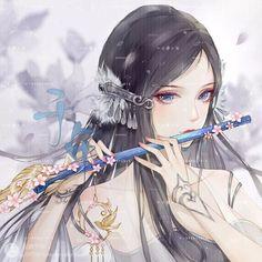 Anime Angel Girl, Anime Art Girl, Manga Girl, Beautiful Fantasy Art, Beautiful Anime Girl, Manga Anime, Arte Sketchbook, Anime Couples Drawings, Anime Fantasy