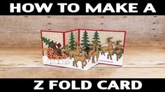 Stamping Jill - How To Make Z Fold Card