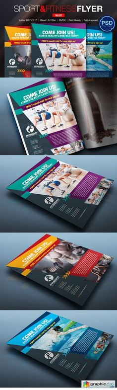 Fitness Flyer - Gym Flyer Templates by AfzaalGraphics on - fitness flyer template