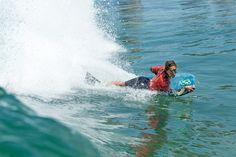 Bottom turn: a key maneuver in bodyboarding   Photo: Jimenez/ISA