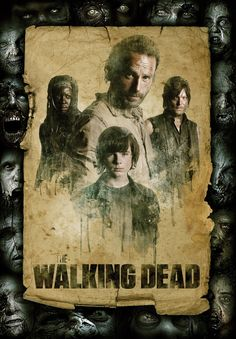 Awesome The Walking Dead poster