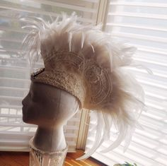 Best DIY Instructable for creating this feather mohawk!