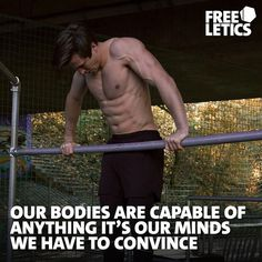 Pull-ups, Handstand push-ups, Muscle-ups. All exercises that might seem impossible to some of you in the beginning. But let us tell you something. They aren't. We are capable of a lot more than we think. What might seem impossible at first, will be just another goal you achieve at some point of your journey. The only thing you will have to do is work hard on those goals. Each and every day. ►►► www.frltcs.com/Athlete #Freeletics