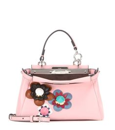 b5ae361ab0 FENDI Micro Peekaboo Embellished Leather Shoulder Bag.  fendi  bags   shoulder bags