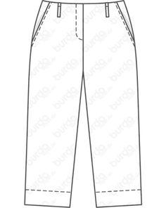 Magazin Schnitt Culotte 03/2020 #125 Pumps, Trousers, Fashion, Boyshorts, Trousers Fashion, Trouser Pants, Moda, Pants, Fashion Styles