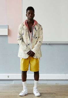 Pigalle Menswear Spring Summer 2016 Paris - NOWFASHION