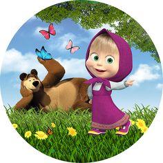 Masha Et Mishka, Masha And The Bear, 4th Of July Decorations, Bullet Journal Inspiration, Paw Patrol, Cartoon Characters, Tinkerbell, Tweety, Decoupage