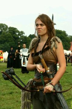 Arrow bomb archer. i would wear this outfit :)