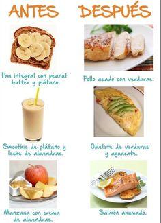 Lista para ir al Gym? Conoce los alimentos que debes consumir y que te dan…