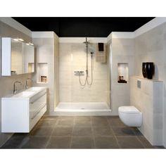 Mooie rustgevende badkamer