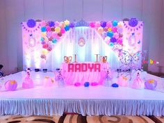 Beautiful Barbie Theme Craft Decor Stage Decorations Balloon Birthday Party Flower