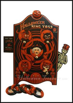 Halloween Ring Toss Game...this is the cutest...I must have it!