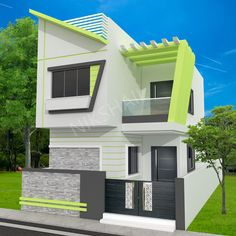 Indian house design, small house design, house plan with elevation, Nikshail House Design Indian House Exterior Design, House Gate Design, Kerala House Design, Bungalow House Design, House Front Design, Small House Design, Dream Home Design, Home Design Plans, Modern House Design