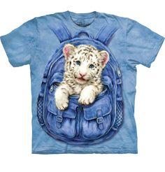 Tričko Tygřík v batůžku